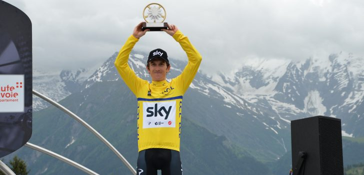 """Geraint Thomas na winst Dauphiné: """"Wat een ongelooflijk gevoel"""""""