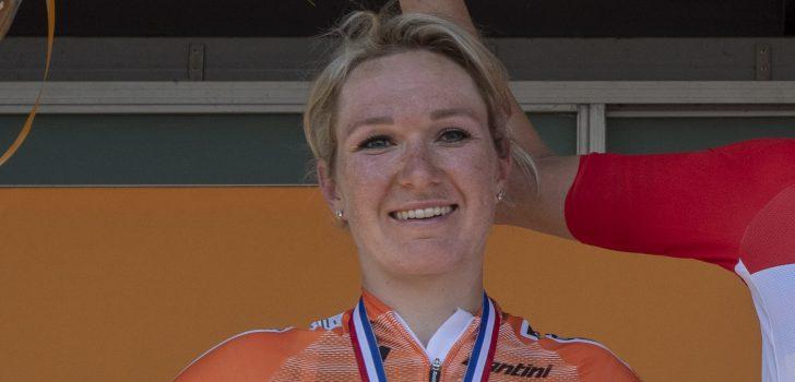"""Amy Pieters voltooit één-tweetje: """"Draai er niet omheen dat ik zelf wilde winnen"""""""