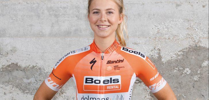 Jip van den Bos houdt bekkenbreuk over aan val in Women's Tour