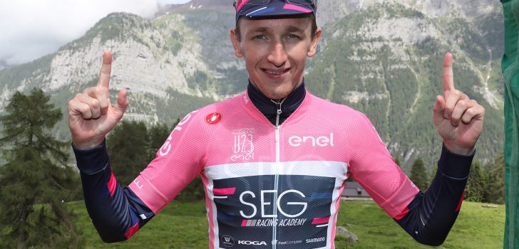 Williams (SEG Racing Academy) brengt spanning terug in Giro U23