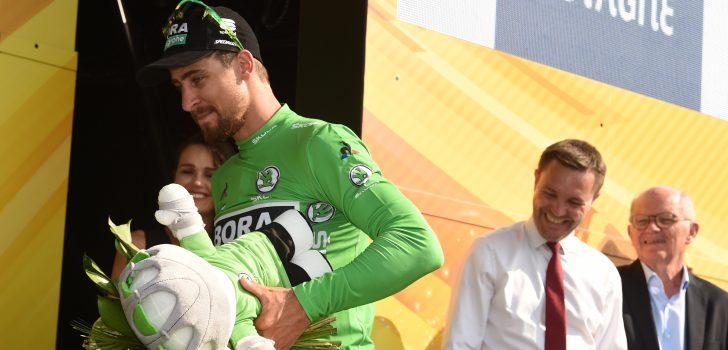 """Peter Sagan: """"Iedereen was blij dat de etappe iets rustiger was"""""""