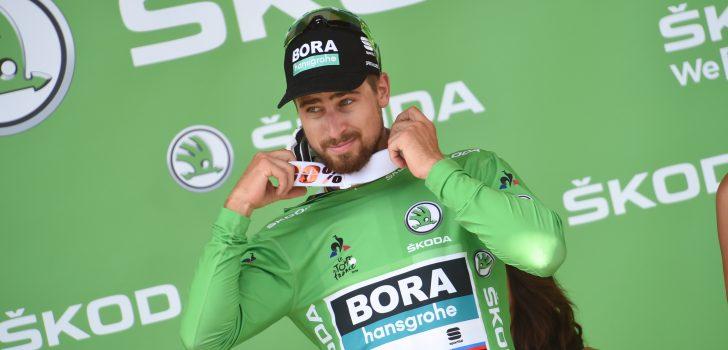 """Peter Sagan: """"Van Avermaet trok de sprint aan voor Colbrelli en mij"""""""