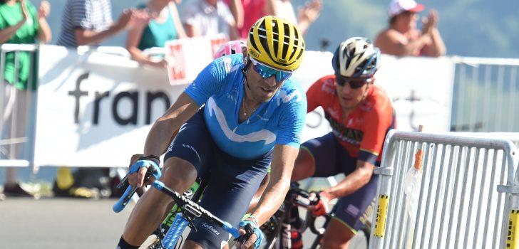 """Alejandro Valverde: """"We zullen het blijven proberen"""""""