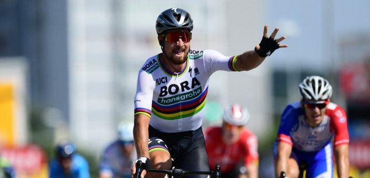 Tour 2018: Dubbelslag Peter Sagan na winst in door valpartij ontsierde sprint