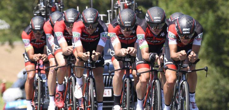 Tour 2018: BMC wint ploegentijdrit, Van Avermaet pakt geel