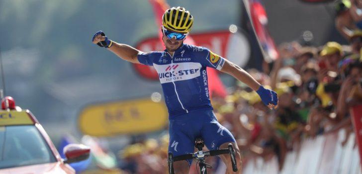 Tour 2018: Alaphilippe laat Fransen juichen na matte Alpenrit