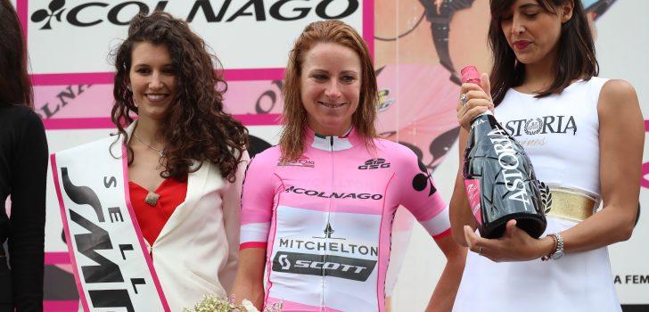 Annemiek van Vleuten klimt naar podium in stand Women's WorldTour