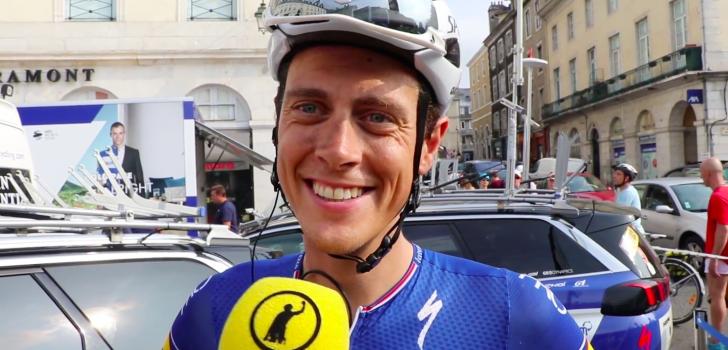 """Niki Terpstra wilde sprint voorkomen: """"Ik had wel hoop"""""""