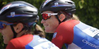 Herstellende Kirsten Wild zit weer op de fiets na coronabesmetting