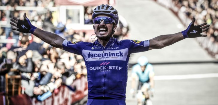Julian Alaphilippe verdedigt titel in Strade Bianche