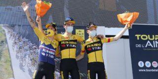 """Tom Dumoulin: """"Concurrentie in Dauphiné groter dan in Tour de l'Ain"""""""