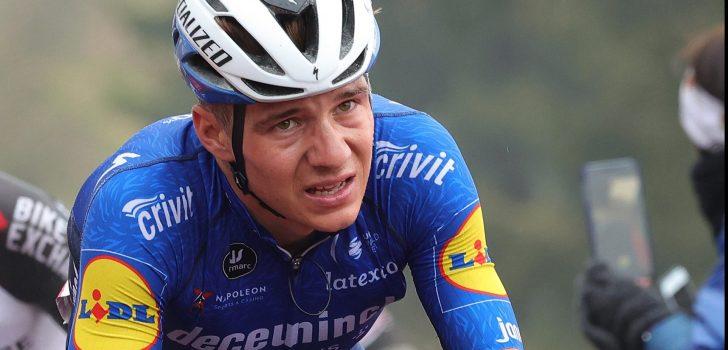 Giro 2021: Remco Evenepoel verlaat Giro d'Italia