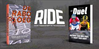 Gratis wielerboek 'Het duel tussen Mathieu en Wout' of 'De Raboploeg' bij een abonnement op RIDE