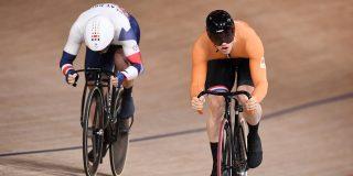 Olympische Spelen: Hoogland en Lavreysen sprinten met overmacht naar halve finale